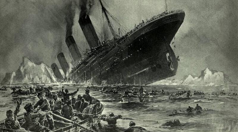 zkáza titanicu
