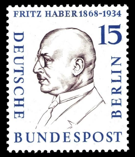 Haber na německé známce