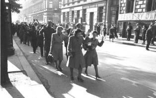 Zatčení Židé v Budapešti