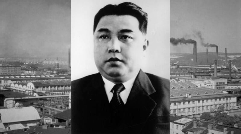 Kim Ir-Sen a ZIL PlzeŇ