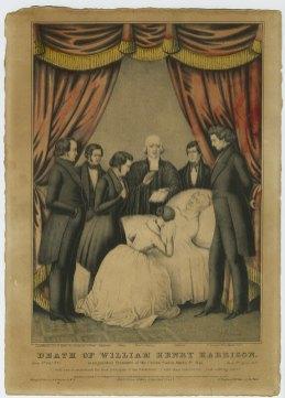 Umírají prezident Harrison