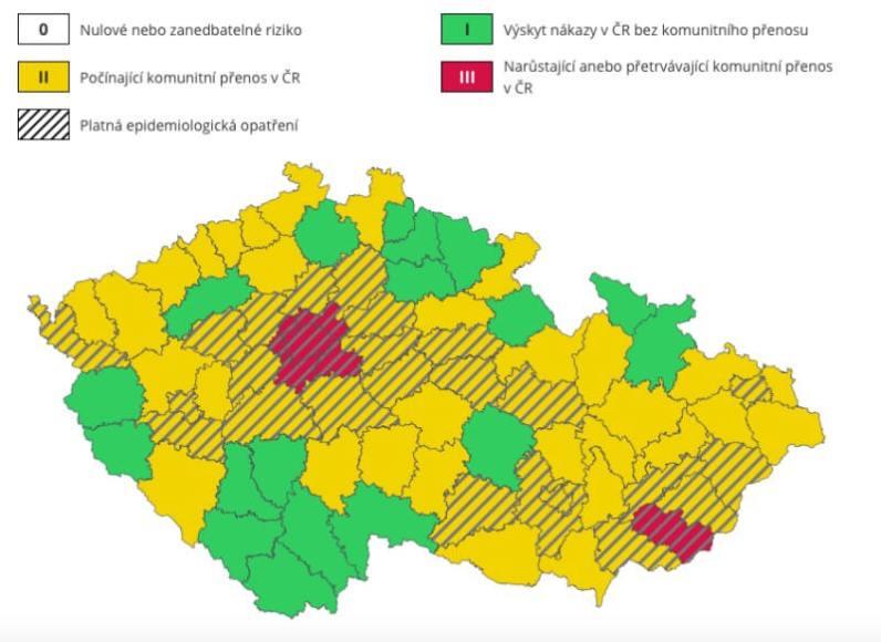 Zdroj: Ministerstvo zdravotnictví ČR