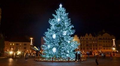 Vánoční strom Plzeň 2020