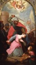 Stětí svaté Barbory