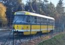 V Plzeňském kraji nepotkáte tramvaj jen v západočeské metropoli. Jedna stojí u obce Trhomné a neví se proč