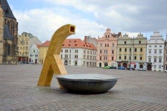 Kašny na náměstí Republiky v Plzni