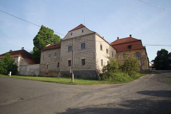 Starý zámek vChudenicích