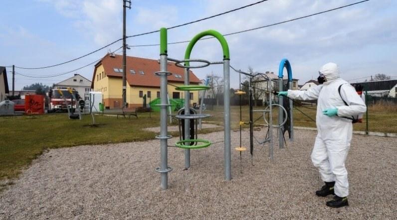 dezifekce v Plzni