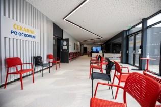 Velkokapacitní očkovací centrum Plzeň