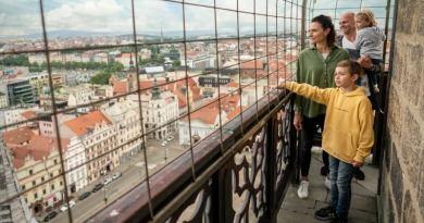 Nové prohlídky Turistického informačního centra: Osvobození 1945 a věž katedrály sv. Bartoloměje s podkrovím