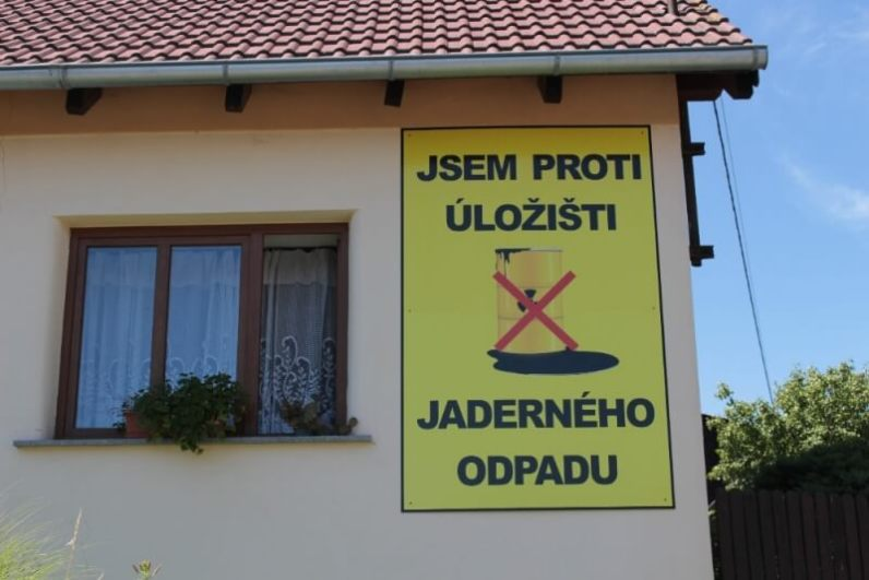 Protest proti úložišti