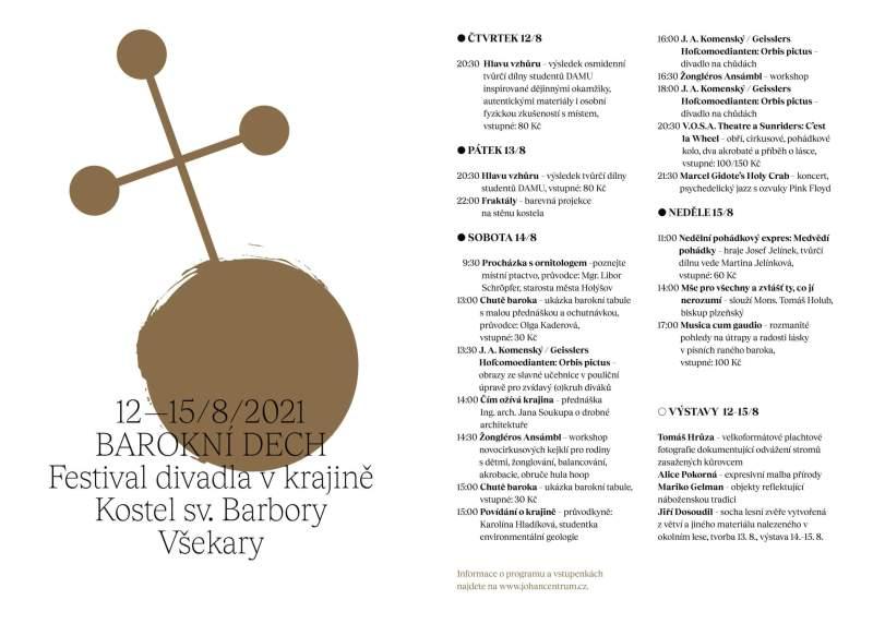 barokní dech - program