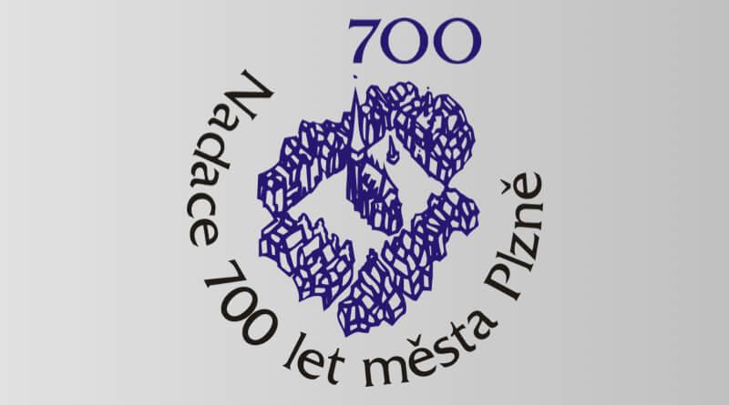 Nadace 700 let města Plzně logo