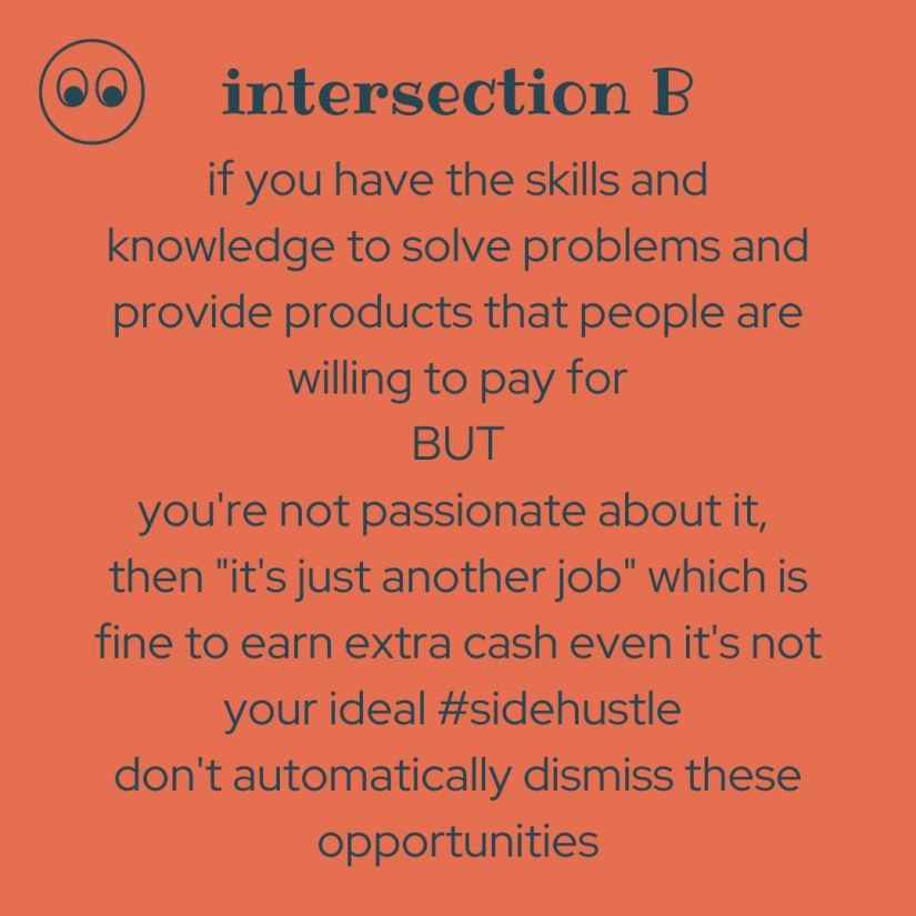 intersection of skills and problems