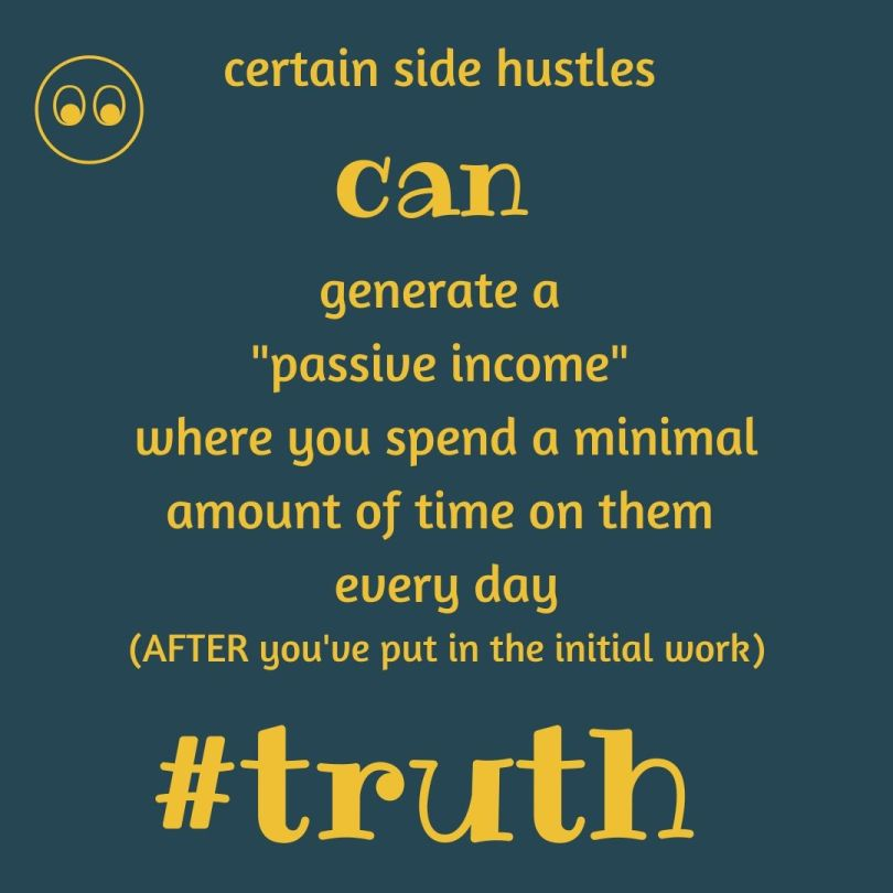 the truth about sidehustles