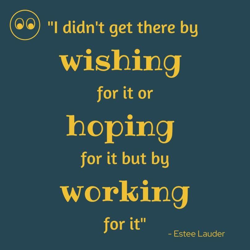 quote from Estee Lauder