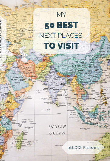 travel map to visit