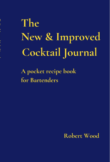 Cocktail Journal Pocket notebook Robert Wood