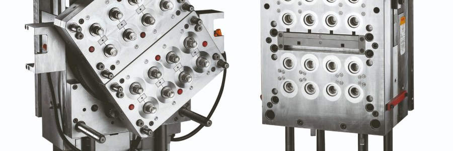 Moule rotatif Bi-matière 2×8