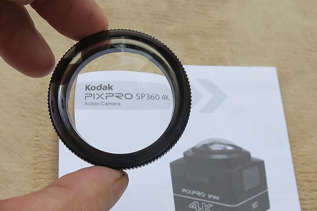 PIXPRO SXZP360 レンズカバー
