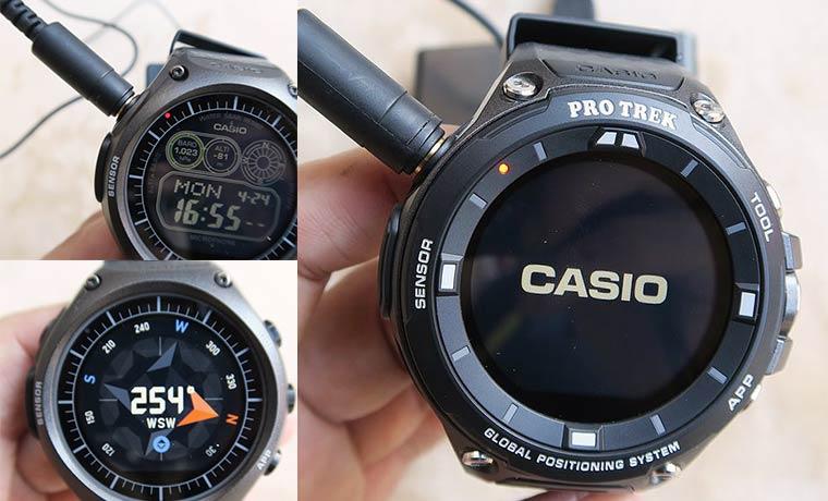 CASIO スマートウォッチ WSD-F10 F20 レビュー