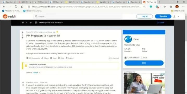 pm prepcast pmp review
