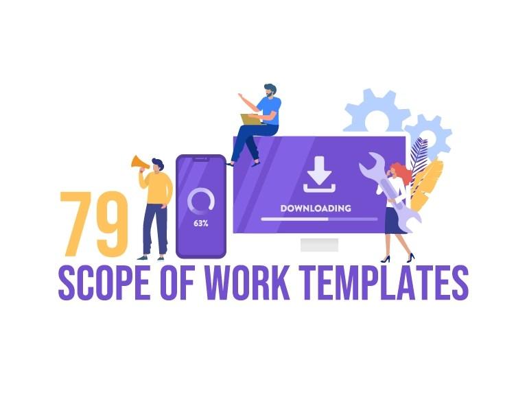 79 Scope of work Templates