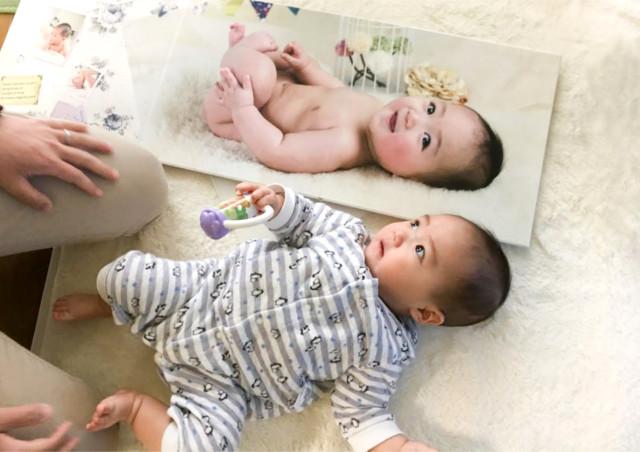 鹿児島写真館の【写真室ペーパームーン】は赤ちゃん・子供の撮影を中心に行うプロの写真スタジオ