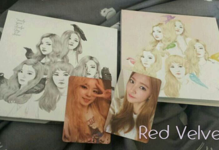 Red Velvet Album Automatic And Ice Cream Cake Version K Pop Amino