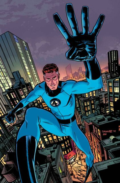 Image result for reed richards cosmic rays
