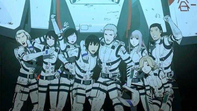 Descargar Sidonia no Kishi: Daikyuu Wakusei Seneki 12/12 Manga Media