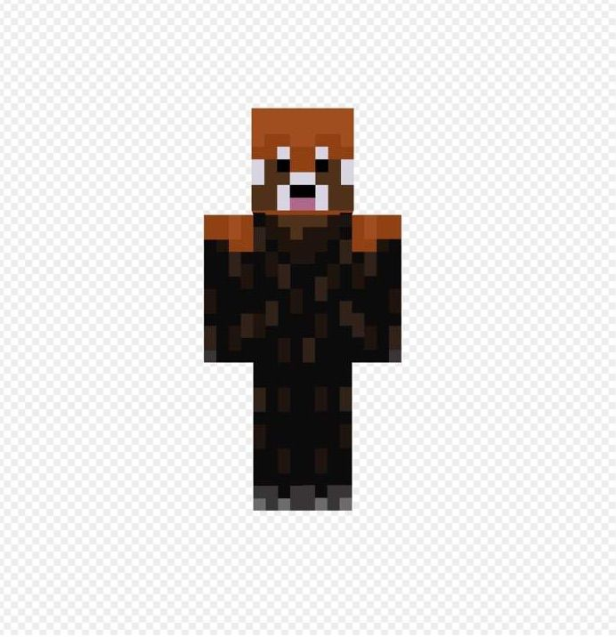 Red Panda Minecraft Skin Wwwpixsharkcom Images