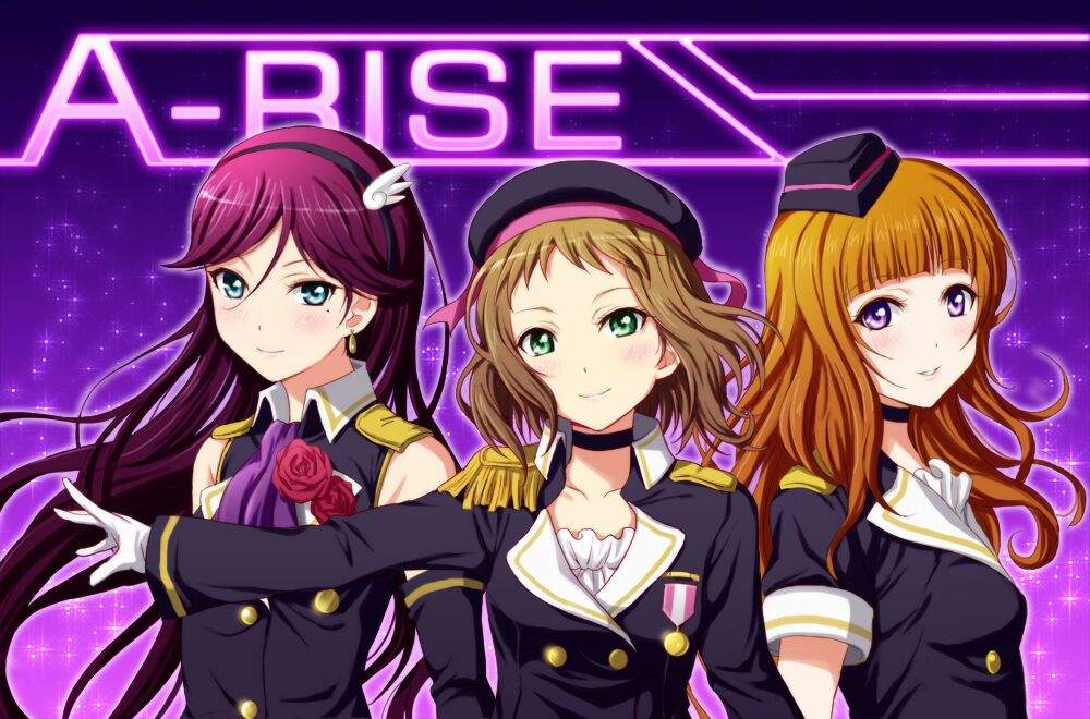 Image result for a-rise µ's