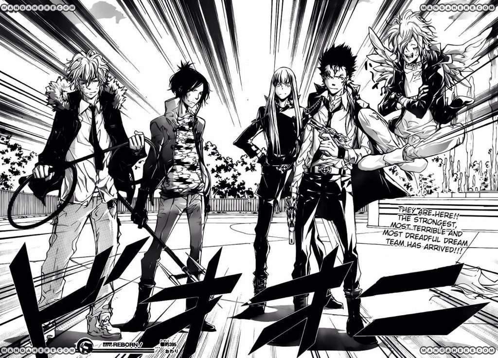 Katekyō Hitman Reborn! Review Manga