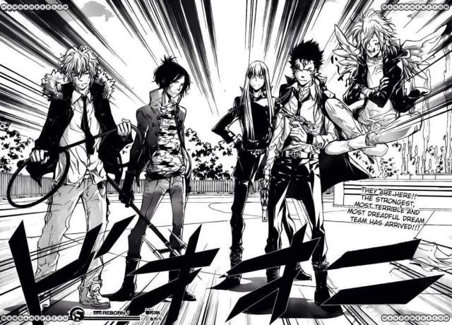 Katekyō Hitman Reborn! Review Manga