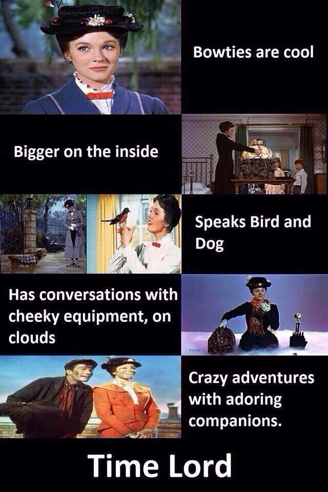 Image result for meme tardis mary poppins