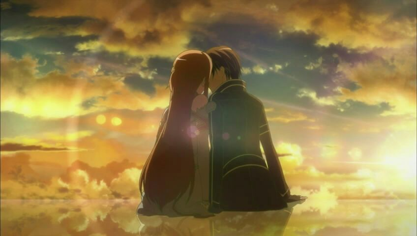 Image result for sword art online ending