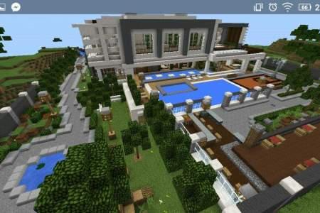Minecraft Pe Modern Mansion Minecraft Skins Path Decorations - Minecraft tutorial spielen