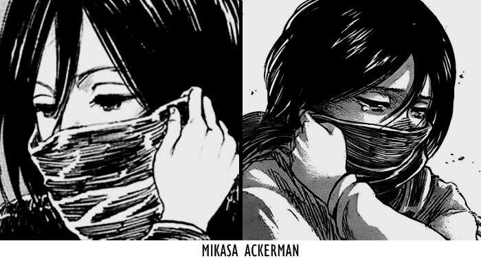 Top 5 De Curioaidades De : Mikasa Ackerman