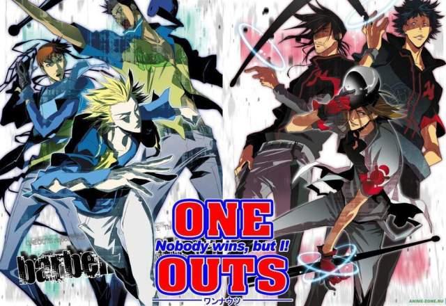 Risultati immagini per one outs anime