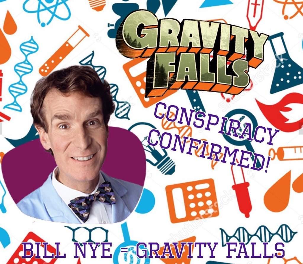 Bill Nye Gravity Falls