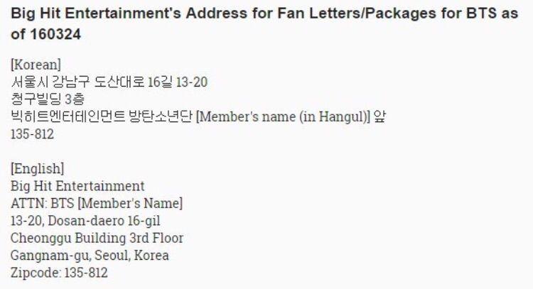 Writing a korean address on an envelope?