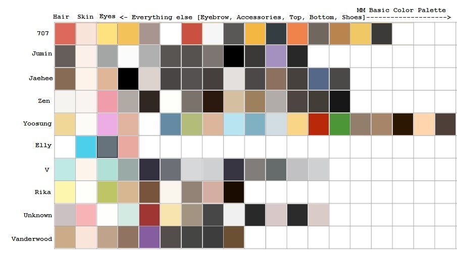 Base Colors