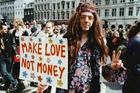 Resultado de imagem para movimento hippie