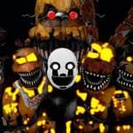 Fnaf 4 Halloween Characters Five Nights At Freddy S Amino