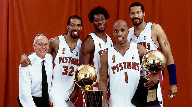 Image result for chauncey billups ben wallace richard hamilton