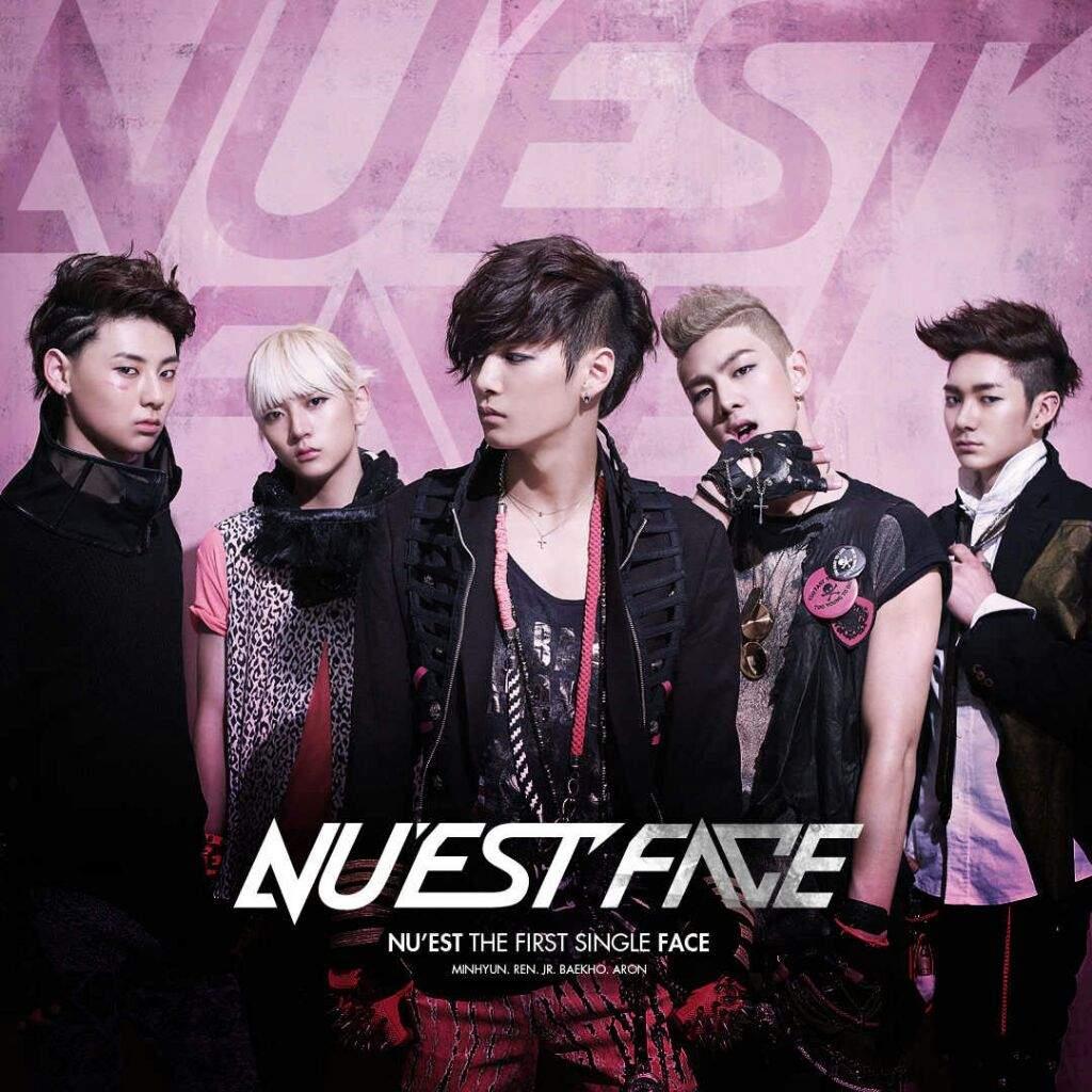 Image result for nu'est face album