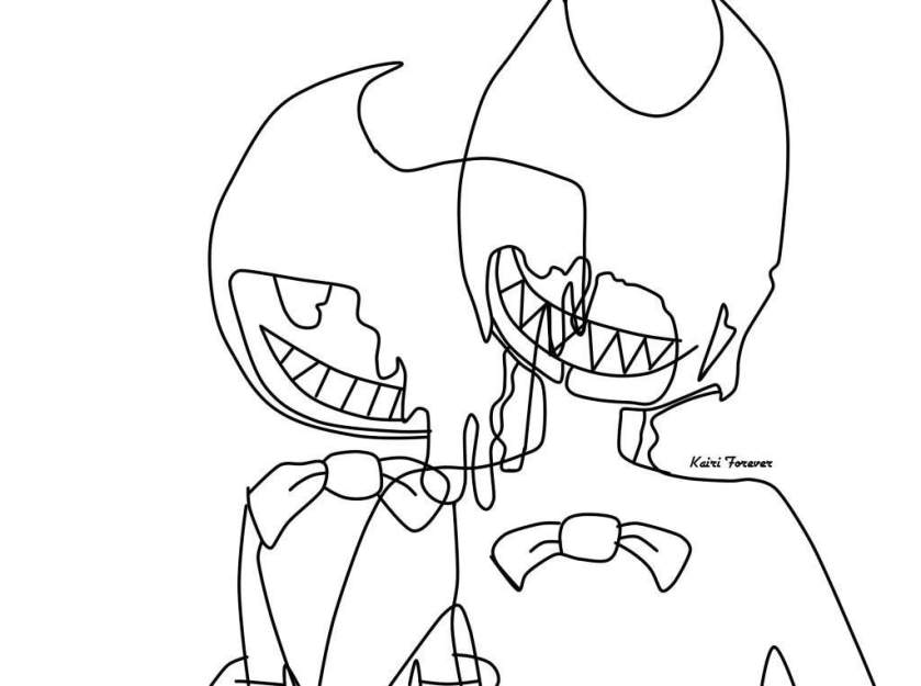corrupted bendy  bendy and the ink machine amino