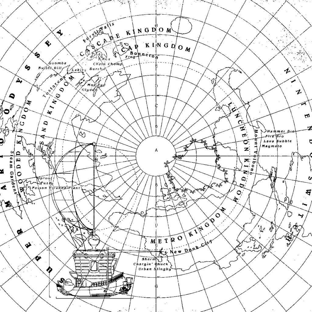 Odyssey Map
