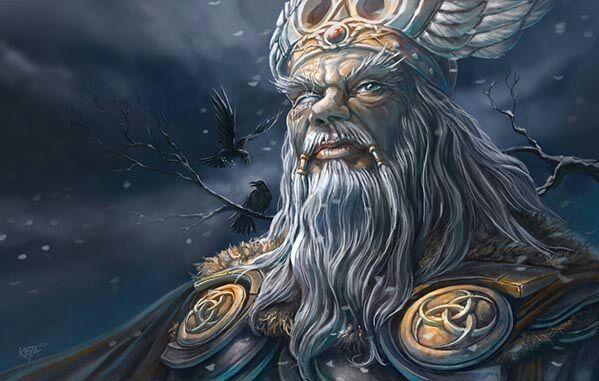 Resultado de imagem para god of war odin